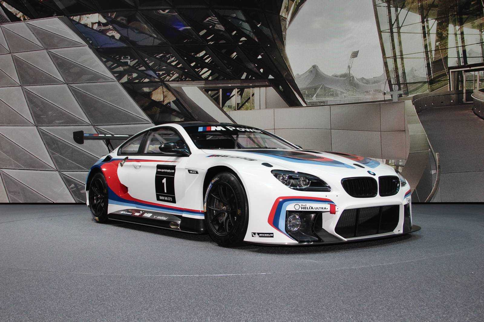 Bmw M6 Gt3 Debuts At The 66th Iaa Cars 2015 All Set To Take Gt Racing Circuit By Storm