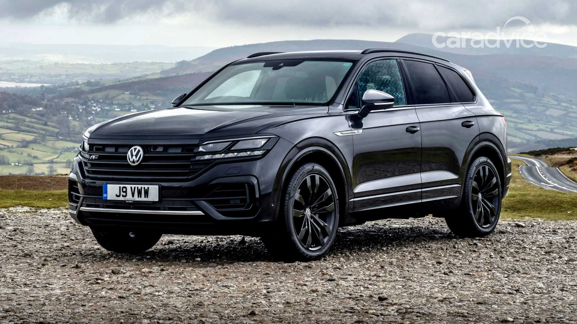 5 Volkswagen Touareg Wolfsburg Will be a Limited Edition SUV